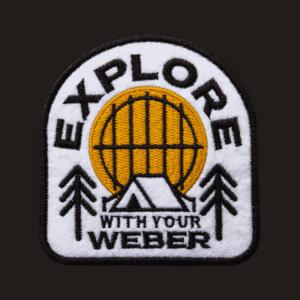 """Limited Edition Weber """"Explore""""-dekal"""