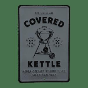 "Limited Edition vintage metalldekal ""Covered Kettle"""